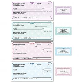 Art Deco Duplicate Checks with Matching Labels