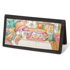 Cozy Comforts Checkbook Cover - Non-Personalized