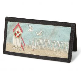 Coastal  Checkbook Cover - Non-Personalized