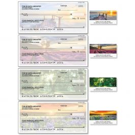 Art of Nature Single Checks with Matching Labels