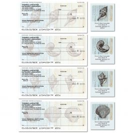 Coastal Shells Duplicate Checks with Matching Labels