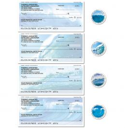 Energetic Ocean Single Checks with Matching Labels