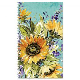 Watercolor Sunflower Password/Pin Keeper