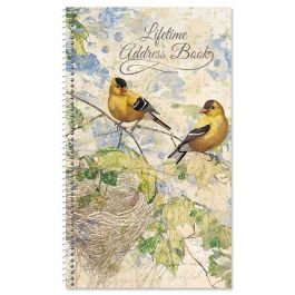 Feathered Nest Lifetime Address Book
