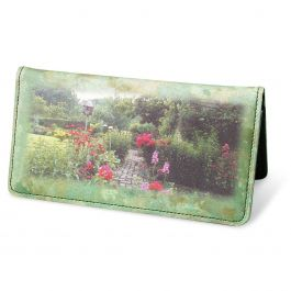 Gorgeous Gardens Premium Checkbook Cover