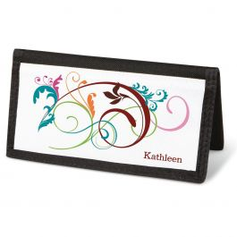 Fantasia Checkbook Cover - Personalized