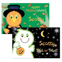 Kids' Ghost Autumn Placemat
