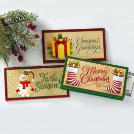 Holiday Season Money Cards | Current Catalog