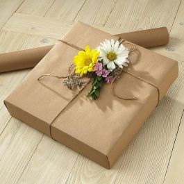 Brown Kraft Jumbo Roll Gift Wrap