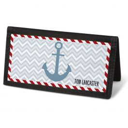 Nautical Chic Checkbook Cover - Personalized