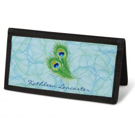 Bright Watercolors Checkbook Cover - Personalized