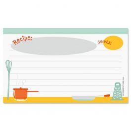 Kitchen Recipe Cards - 3 x 5