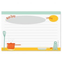 Kitchen Recipe Cards - 4 x 6
