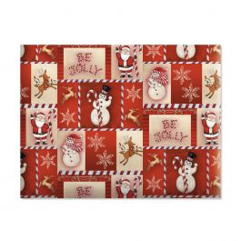 Be Jolly Jumbo Rolled Gift Wrap