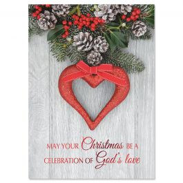 Greatest Gift Nonpersonalized Deluxe Christmas Cards - Set of 56