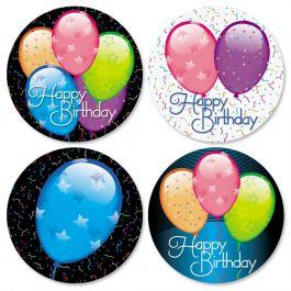 Birthday Balloons Seals