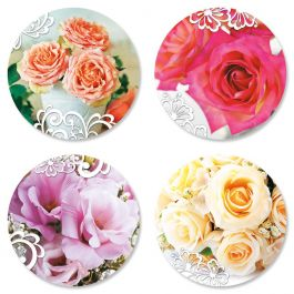 Roses and Lace Seals
