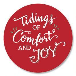 Tidings Of Comfort And Joy Seals Current Catalog
