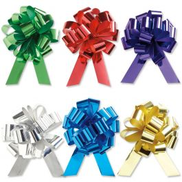 Metallic Pull Bows Value Pack - Set of 18