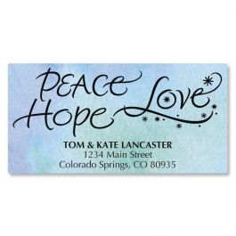 Spirit of Christmas Deluxe Address Labels