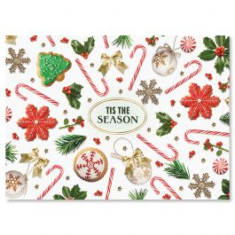 Everything Jolly Christmas Cards - Personalized