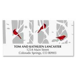 Birch Forest Deluxe Address Labels