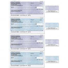 Mandala Single Checks with Matching Labels