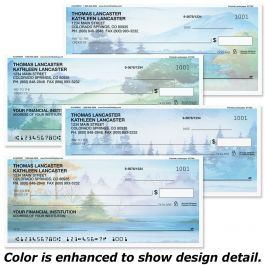 Painted Landscapes Single Checks