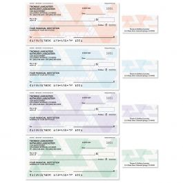 Triangle Print Duplicate Checks with Matching Labels