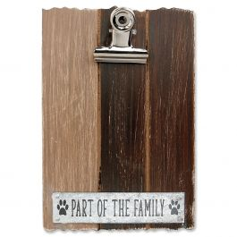 Part of the Family Pet Photo Clip Easel