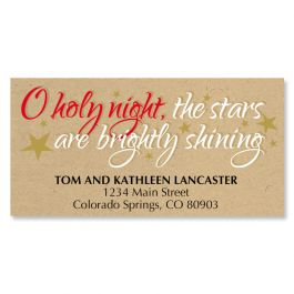 Kraft Holy Night Deluxe Address Labels