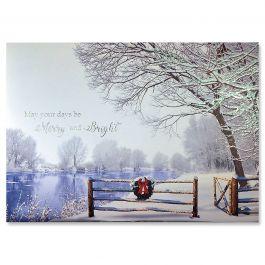 Silent Splendor Ultra-Deluxe Christmas Cards