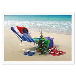 Hawaiian Holiday Christmas Cards