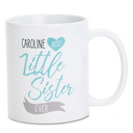 Personalized Little Sister Mug