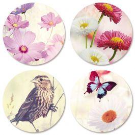 Floral Seals (4 Designs)