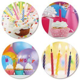Birthday Celebration Seals (4 Designs)