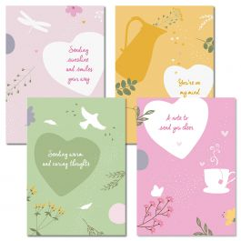 Sunshine and Smiles Thinking of You Cards