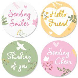 Sunshine and Smiles Seals (4 Designs)