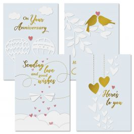 Whimsy Anniversary Cards