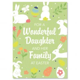For a Wonderful Daughter Easter Card