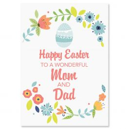 Happy Easter to Parents Easter Card