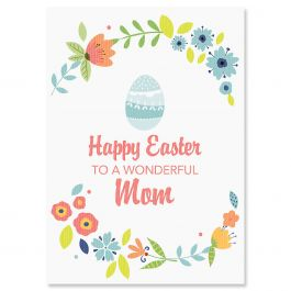 Happy Easter to Mom Easter Card