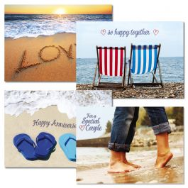 Paradise Anniversary Cards
