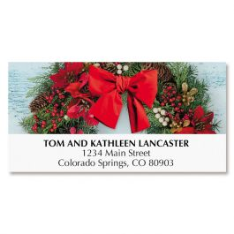 Holiday Cross Deluxe Address Labels