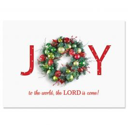 Great Joy Christmas Cards - Personalized