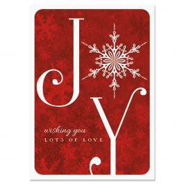 Joyful Greetings Christmas Cards - Personalized