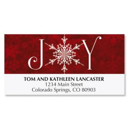 Joyful Greetings Deluxe Address Labels