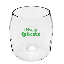 Drink Up Unbreakable Wine Glass