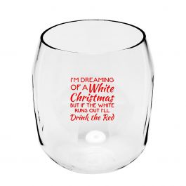 Dreaming Unbreakable Wine Glass