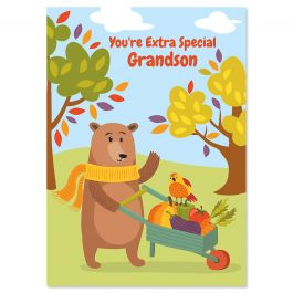 Grandson Thanksgiving Card